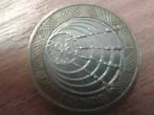 £2 TWO POUND COIN MARCONI 2001
