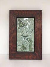Medicine Bluff Luna Art Tile Arts & Crafts Mission Style Oak Park Frame