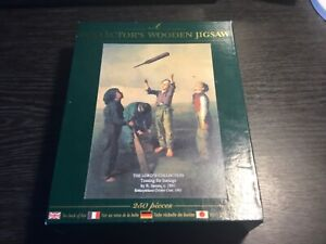 WENTWORTH WOODEN JIGSAW THE LORDS COLLECTION TOSSING FOR INNINGS  250