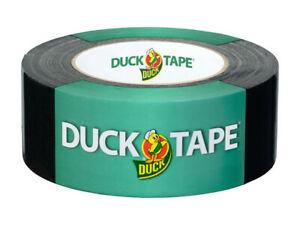 DUCK TAPE 106-04 Original Gewebeband Selbstklebendes Klebeband 50mm x25m schwarz