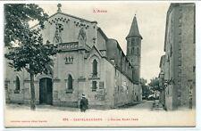 Eglise Saint Jean Castelnaudary L'Aude France 1910s postcard