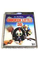 Disney Chicken Little Comedy Alien Invasion Aliens Animated Movie 3D Blu-ray DVD