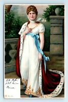 1905 Royalty Postcard LOUISE of MECKLENBURG-STRELITZ  Luise Queen of Prussia UDB
