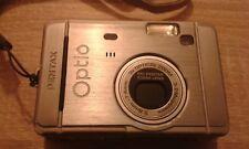 Pentax optio digital camera S30 touch display 3x optical zoom