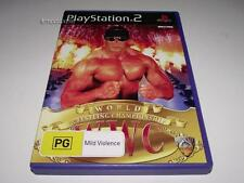 World Wrestling Championship PS2 PAL *Complete*
