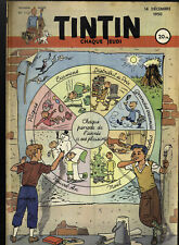 Journal de TINTIN  FRANCE 112 du 14 Decembre 1950