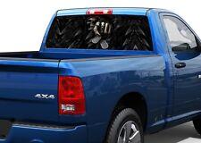 You Next Skull Skeleton fear Rear Window Decal Sticker Pick-up Truck SUV Car