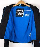 Superdry Damen Freizeit Windjacke Jacke Mantel GRÖSSE XS ASZ1122