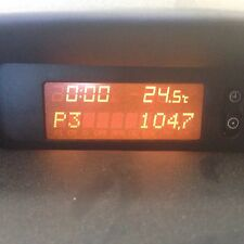 Holden Astra TS Clock Lcd Display. No Missing Pixels Bleeding Sedan/hatch 99-05