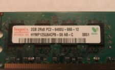4gb (2) 2gb Hynix 2GB PC2-6400 DDR2 Memory RAM HYMP125U64CP8-S6