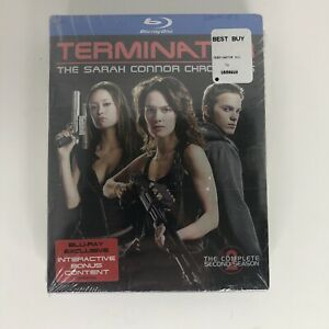 Terminator The Sarah Connor Chronicles Blu-ray Seasons 1 & 2 NEW/SEALED A10