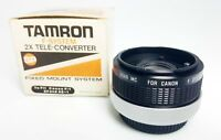 Tamron F-System 2X Tele-Converter Sp x Canon Fd