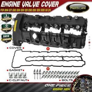 Engine Valve Cover w/ Gasket for BMW E71 E82 E88 E90 E91 E92 E93 135i 335i X6 Z4