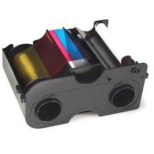HID Fargo Smartload Full Color YMCKO Ribbon Cartridge 045000 for DTC1000