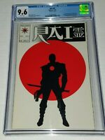 Rai #0 Glossy Version Variant CGC 9.6 NM+ White Valiant 1992 1st Bloodshot