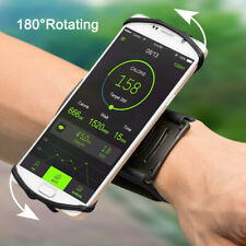 Rotation Mobile Phone Armband Holder Sports Running Jogging Exercise Wrist Band