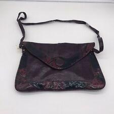primark purple faux snake skin bag Clutch Style Shoulder Bag
