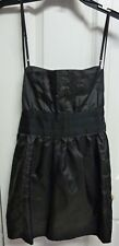 BCB Girls Women's Baby Doll Top Size L Large Black