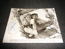 "Ke Huy Quan signed autógrafo en 16x22 cm ""indiana jones"" foto Look"