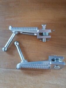 Yamaha Tracer 900 GT 2019 Standard Footpegs, front and rear.