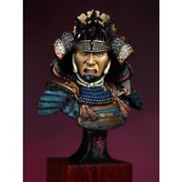 1/10 BUST Samurai Warrior Model Unfinished