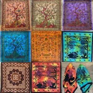 Indian Tapestry Wall Hanging Hippie Gypsy Bedspread Throw Bohemian Cover Animal
