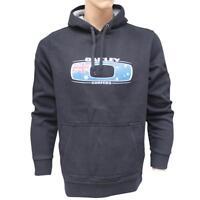 Oakley SURFERS Hoodie Black Size L Mens Australia Flag Fleece Jumper Sweater
