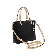 NEW OROTON Estate Mini Tote Bag Handbag Crossbody Leather Black Tag Dustbag