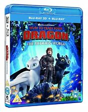 How to Train Your Dragon - The Hidden World (3D + 2D ) [Blu-ray]