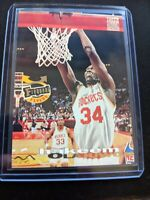 1993-94 Stadium Club Frequent Flyer Rockets Card #348 Hakeem Olajuwon