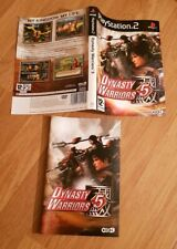 Playstation 2 Dynasty Warriors 5 Ps2 Manual & Insert Only