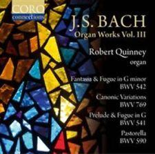 J.S. BACH: ORGAN WORKS, VOL. 3 NEW CD