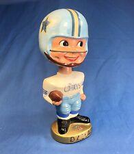 Vintage 1960s Dallas Cowboys Gold Base Nodder Bobblehead