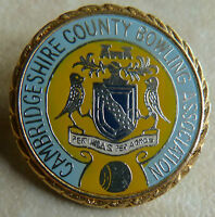 CAMBRIDGESHIRE COUNTY BOWLING ASSOCIATION - BADGE