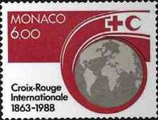 Timbre Croix Rouge Monaco 1637 ** lot 1590