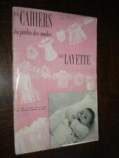 CAHIERS DU JARDIN DES MODES LAYETTE - N° 48
