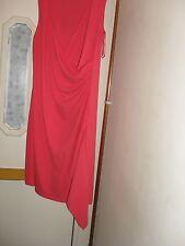 Ladies cerise dress size 18