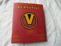 Versatile 875 855 835 150 300 276 900 tractor service bulletin manual 1973-1985