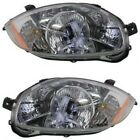 Halogen Headlight Lamp Assembly Pair LH & RH Sides for Mitsubishi Eclipse