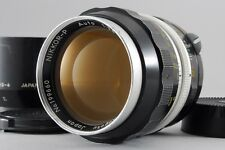 EXCELLENT+++++  Nikon NIKKOR P Auto 10.5cm 105mm f/2.5 w/Hood from japan #464