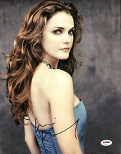 KERI RUSSELL SIGNED 11X14 PHOTO AUTOGRAPH PSA DNA COA AE25679