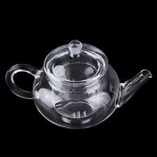 Heat Resistan Glass Teapot With Infuser Coffee Tea Leaf Herbal Pot 250ml FLY