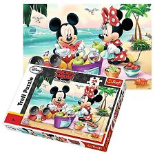 TREFL 24 PIÈCES MAXI UNISEXE DISNEY MICKEY MINNIE MOUSE Grand pièces Puzzle