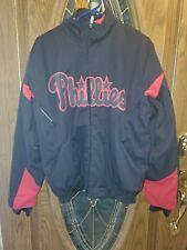 New listing Philadelphia Phillies Majestic Authentic Collection Jacket Coat Fleece Lined S