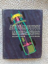 Vintage Automotive Mechanics Hardcover Book William Crouse Fifth Edition