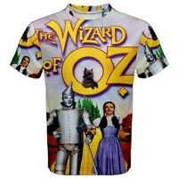 New The Wizard of OZ Sublimation Men's Sport Mesh Tee T-Shirt Size XS-3XL