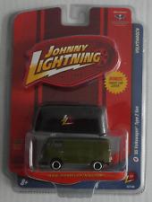Johnny Lightning – VW T1 Transporter oliv + Stoffhaube Neu/OVP