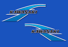 1977 Kawasaki KV75 A6 - Cerulean Blue decal set