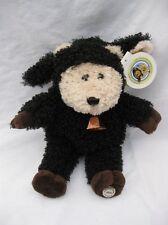 "Starbucks Bearista Bear in Lamb Black Sheep Costume 2004 31st Edition Plush 10"""
