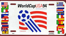 Orig.car shield / Shield   World Cup USA 1994 - Official Logo //  30,5 x 15 cm !